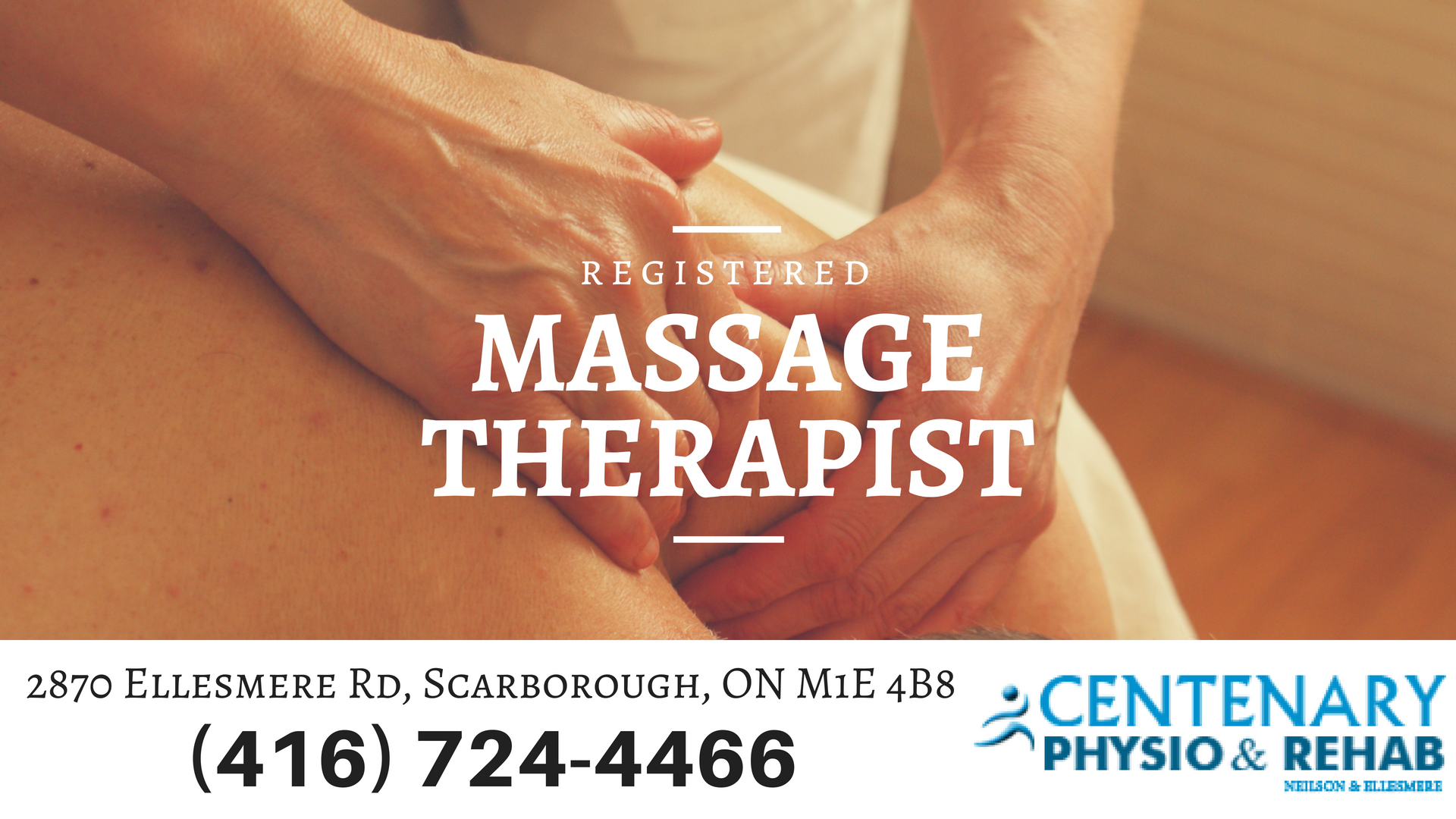 Guangping Song (Sam) - Registered Massage Therapist Scarborough